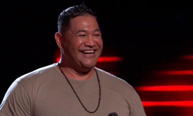 Esera Tuaolo on the Voice