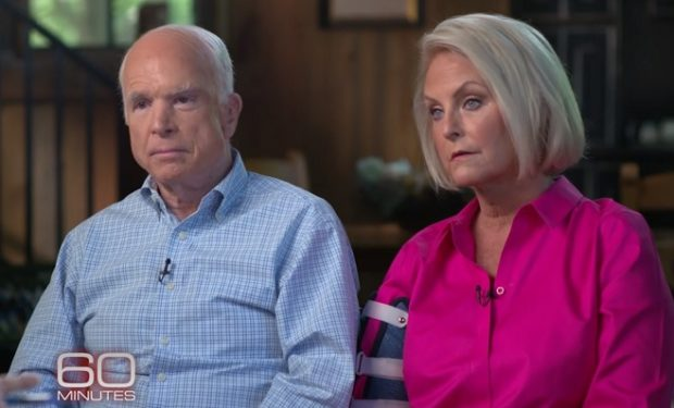 John and Cindy McCain on 60 Minutes CBS