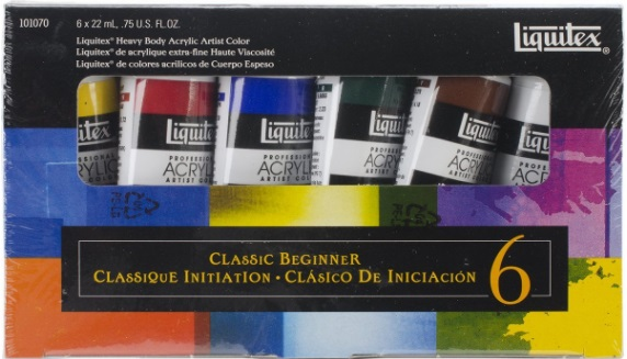 Liquitex Professional Heavy Body The Classic Beginner Set