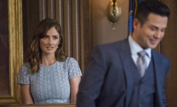 Minka Kelly, Freddie Rodriguez on Bull CBS Jeffrey Neira/CBS