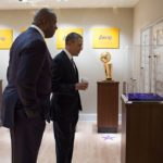 Obama_at_Magic_Johnson's_trophy_room