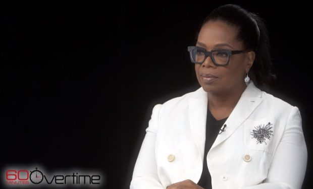 Oprah on 60 Minutes Overtime