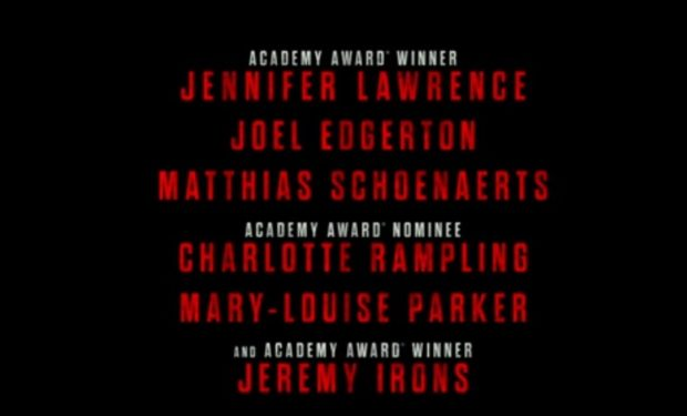 Red Sparrow cast
