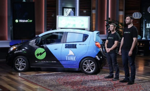 Waive Car on Shark Tank with Chris Sacca