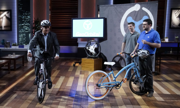 GeoOrbital electric bikes on Shark Tank Mark Cuban