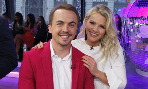 Frankie Muniz, Witney Carson DWTS 25 on GMA