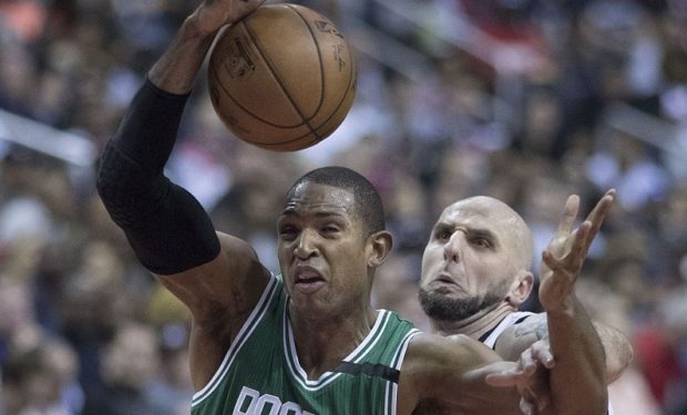 Al Horford evaluated for concussion, won't play vs. Lakers