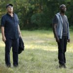 "Pictured: (l-r) Raymond ""Red"" Reddington, Hisham Tawfiq as Dembe Zuma -- (Photo by: Will Hart/NBC)"