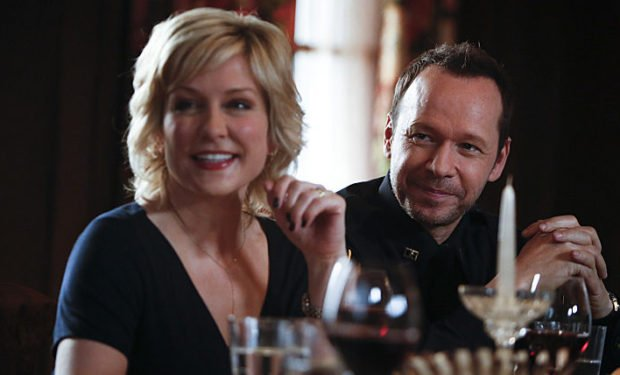 Amy Carlson, Donnie Wahlberg, Blue Bloods, CBS Photo by Craig Blankenhorn