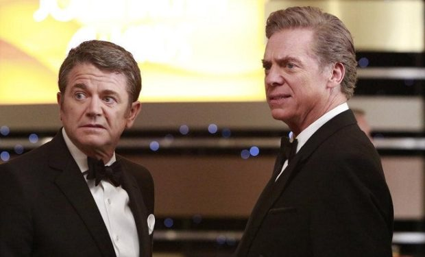 (l-r) John Michael Higgins as Chuck, Christopher McDonald as Len -- (Photo by: Bill Inoshita/NBC)