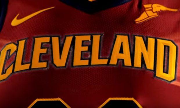 Cleveland Cavaliers Firestone Wingfoot Logo Patch