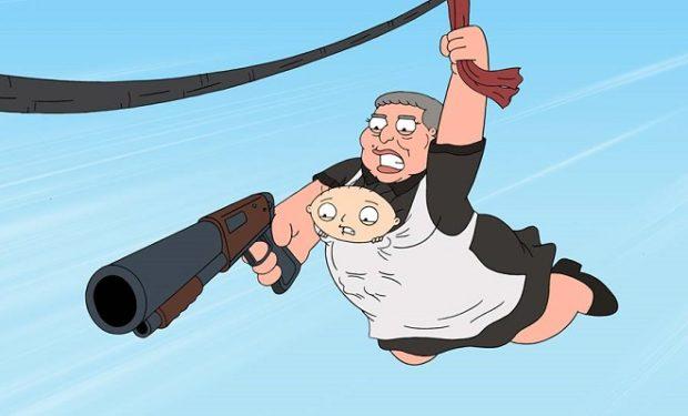 Family Guy Nanny Goats FOX