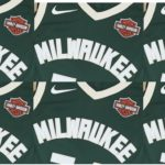 Milwaukee Bucks Harley Logo Jerseys