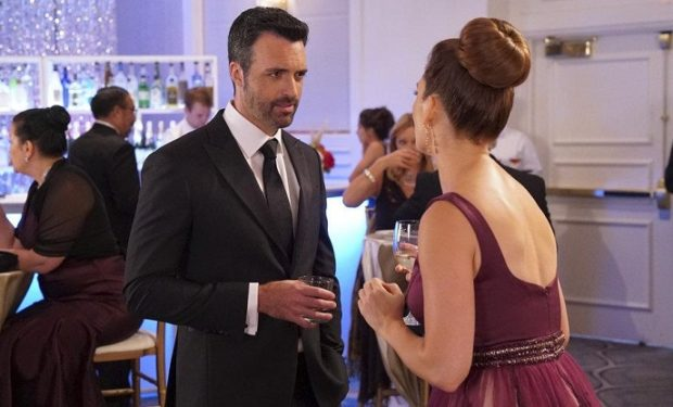 Reid Scott as Jeremy, Briga Heelan as Katie -- (Photo by: Bill Inoshita/NBC)