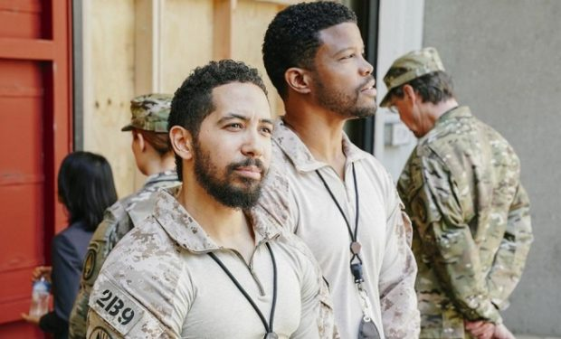 Sharif Atkins SEAL Team CBS