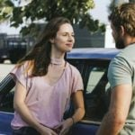 Alona Tal as Stella and Max Thieriot as Clay Spenser. Photo: Erik Voake/CBS