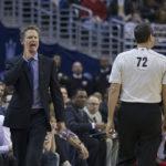 Steve_Kerr not liking Warriors turnovers
