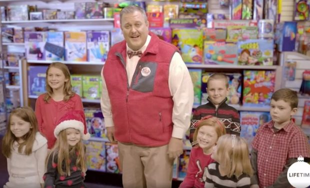 Billy Gardell as Roy on A Very Merry Toy Store