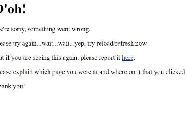 IMDB site goes down Doh response
