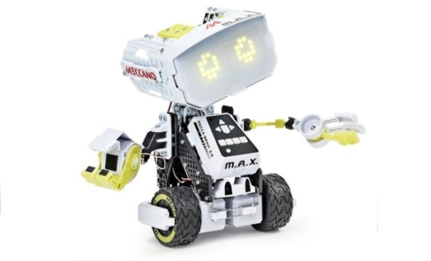 Meccano Erector M.A.X Robotic Toy with Artificial Intelligence
