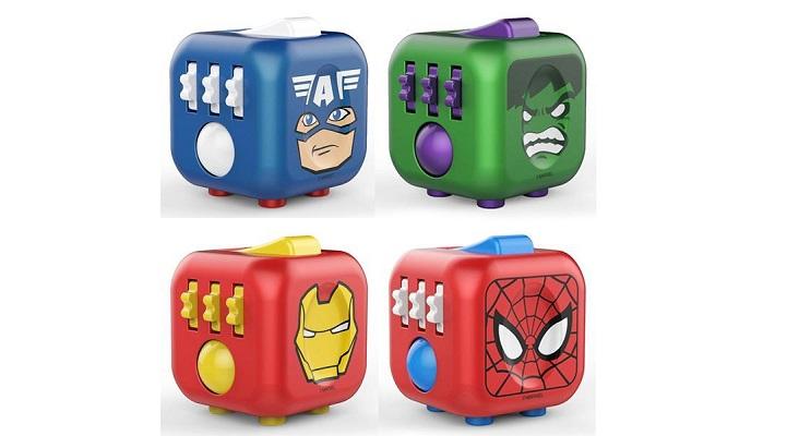 Thor BNIB Marvel Heroes fidget cube