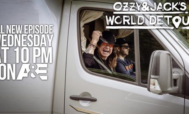 Ozzy and Jack World Detour A&E photo