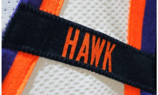 The Hawk Patch Connie Hawkins Phoenix Suns Arm band