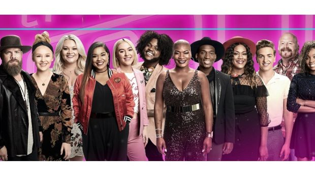 The Voice Top 12 NBC