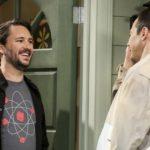 Wil Wheaton Jim Parsons Big Bang Theory CBS/Sonja Flemming