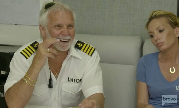 Below Deck Captain Lee and Kate