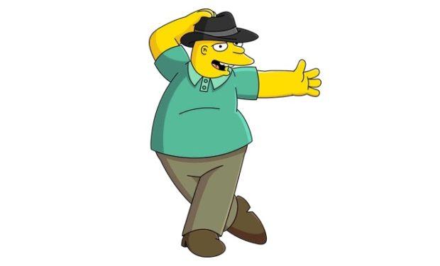 Leon on The Simpsons FOX