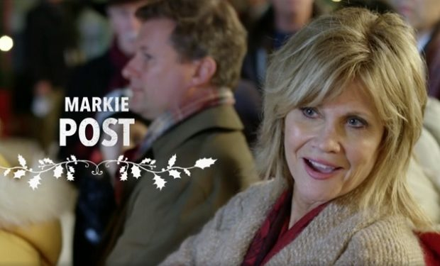 Markie Post on Lifetime Four Christmases and a Wedding