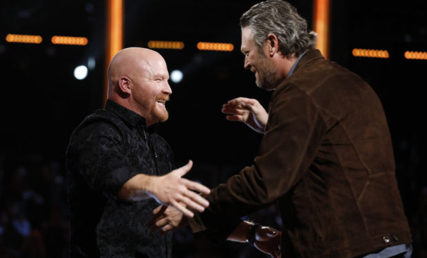 Red and Blake The Voice