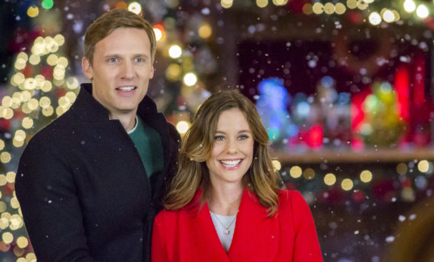 Teddy Sears, Ashley Williams, Christmas in Evergreen, Hallmark/Crown Media