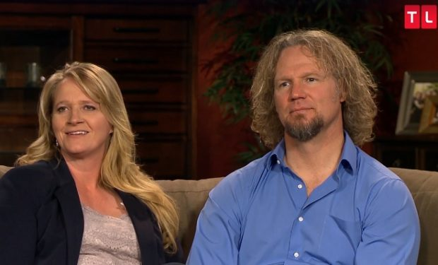 Christine and Kody Brown on Sister Wives TLC