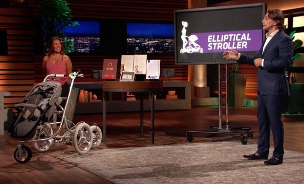 Elliptical Stroller Shark Tank ABC