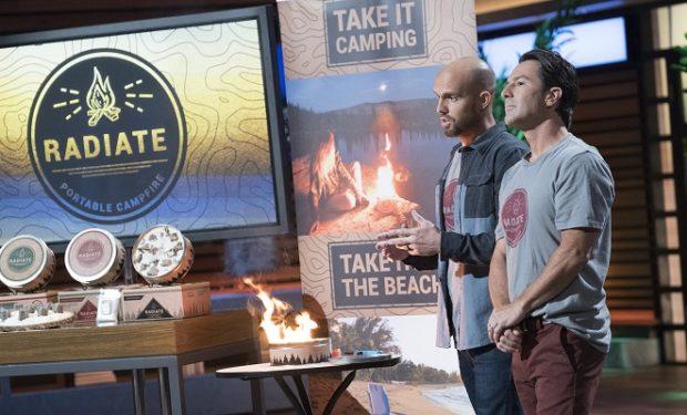 Shark Tank Radiate Campfire