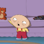 Family Guy Stewie and Rupert