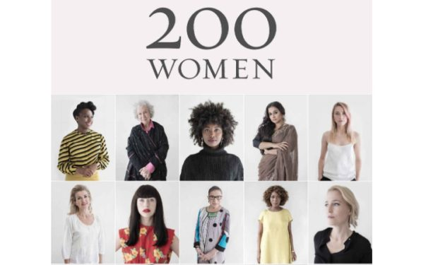 200 Women Book cover Published by Chronicle Books,