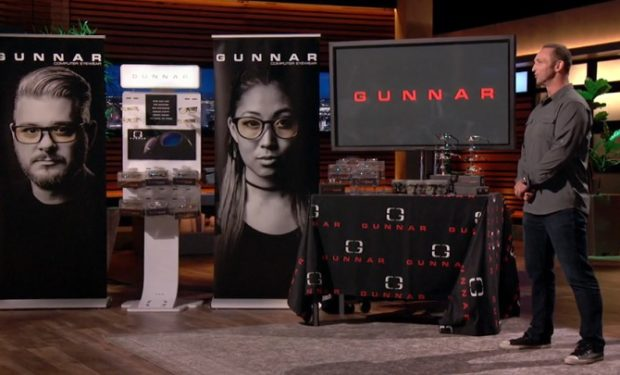 Gunnar Optiks Shark tank