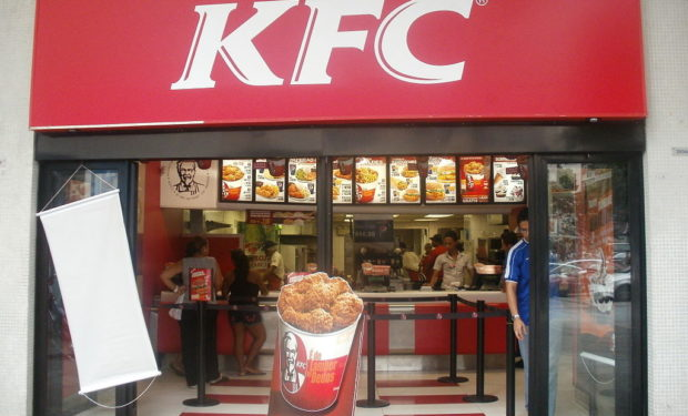 KFC has closed in the UK for lack of chicken