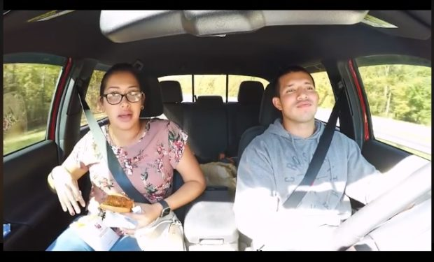 Lidia and Javi in car Teen Mom 2 Being Javi