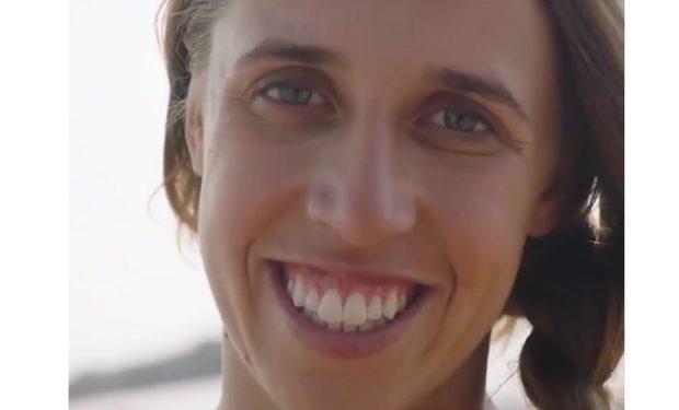 Maddie Bowman in Milk ad