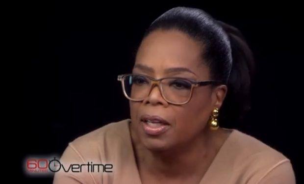 Oprah 60 Minutes screengrab