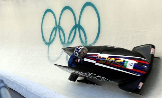 Douglasville's Meyers Taylor wins Olympic silver medal in bobsledding