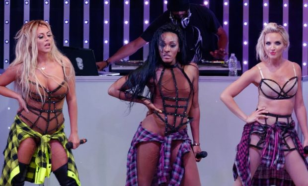 Danity Kane with Aubrey O'Day