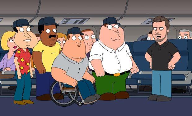 Eric Dane on Family Guy