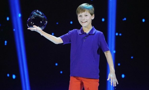 Felix bubble boy Little Big Shots