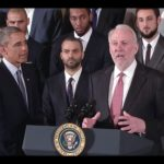 Gregg Popovich has 6 assistant coaches who he listens to. Theyhelp get him to the White House.