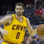 Kevin Love meets Greek Freak in return to action after hand injury